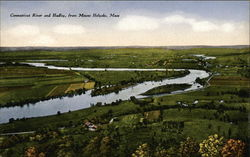 Connecticut River and Hadley from Mount Holyoke