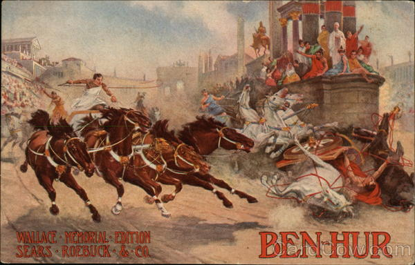 Ben-Hur by General Lew Wallace Advertising