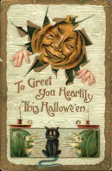 To Greet You Heartily This Halloween