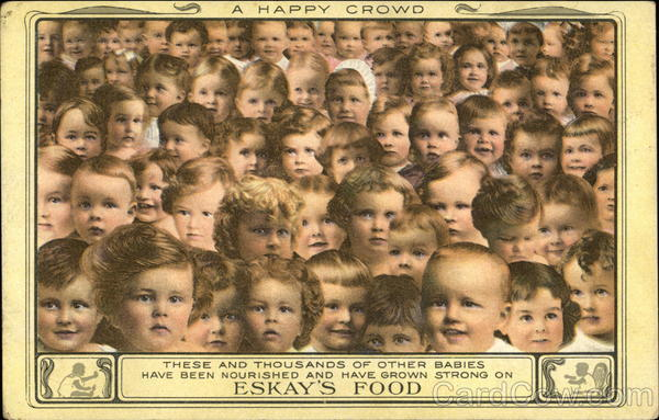 A Happy Crowd - Eskay's Food Advertising