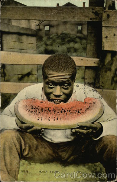 Water Melon Black Americana