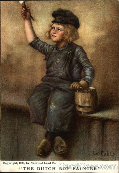 The Dutch Boy Painter Advertising