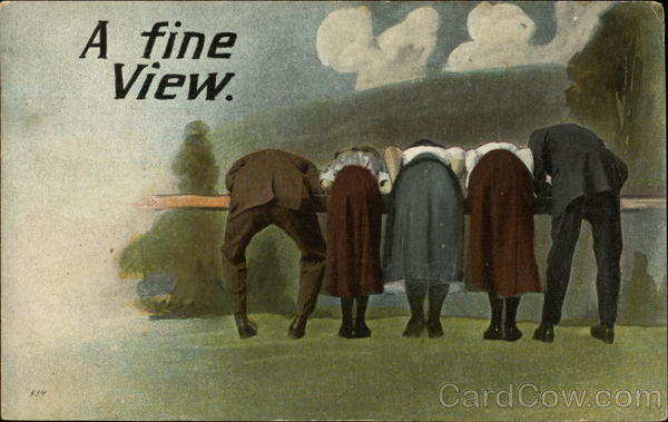 A Fine View Comic, Funny