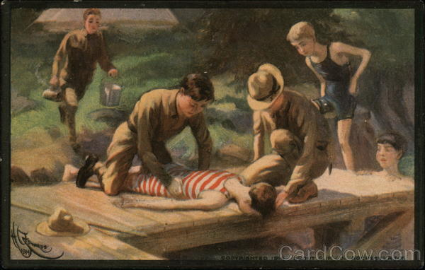 Boy Scouts: First Aid