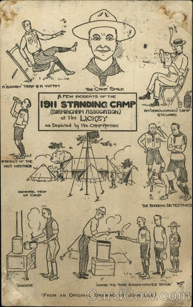 A Few Incidents of the 1911 Standing Camp (Birmingham Association) of the Lickey