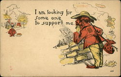 I am Looking for Some one to Support Me Postcard