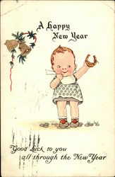 A Happy New Year Good Luck to You all Through the New Year