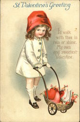 St. Valentine's Greeting, I'd Walk With Thee in Rain or Shine, My Own and Sweetest Valentine