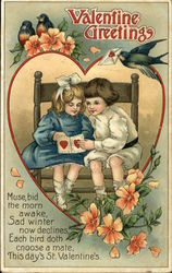 Valentine Greetings, Muse, Bid The Morn Awake, Sad Winter Now Declines. Each Bird Doth Choose a Mate