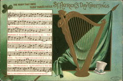 The Harp That Once Thro' Tara's Halls, St. Patrick's Day Greetings