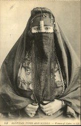 Egyptian Types and Scenes - Woman of Cairo