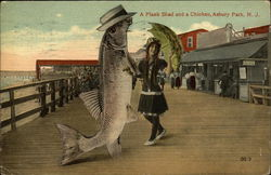 A Plank Shad and a Chicken, Asbury Park, N.J