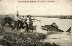 How we Do Things at Faribault, Minn., Landing a Pike