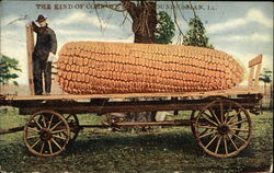 Giant Ear of Corn on Wagon