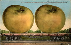 A Carload of Mammoth Apples From