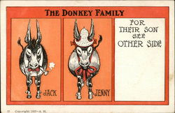 The Donkey Family, Jack, Jenny, For Their Son See Other Side