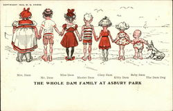 The Whole Dam Family at Asbury Park