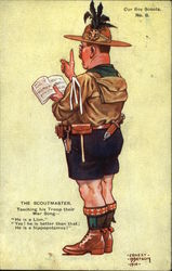 The Scoutmaster Postcard