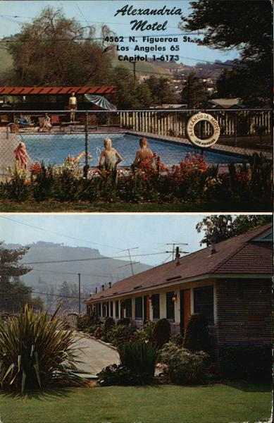 Alexandria Motel Los Angeles California