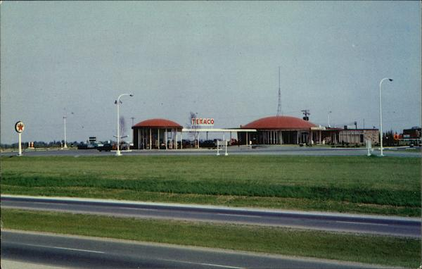 Texaco Service Centre, MacDonald-Cartier Freeway Ontario Canada