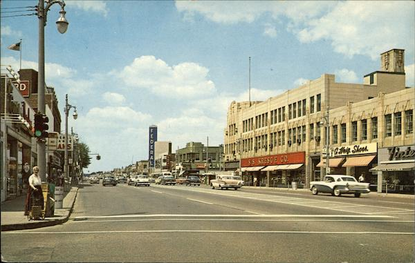 Michigan Ave. at Schaefer Dearborn