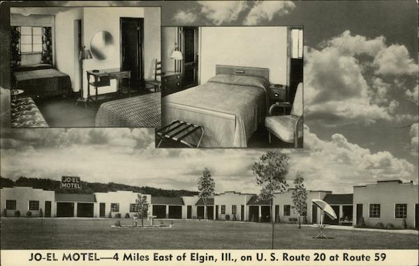Jo-El Motel Elgin Illinois