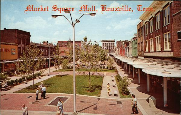 Market Square Mall Knoxville Tennessee