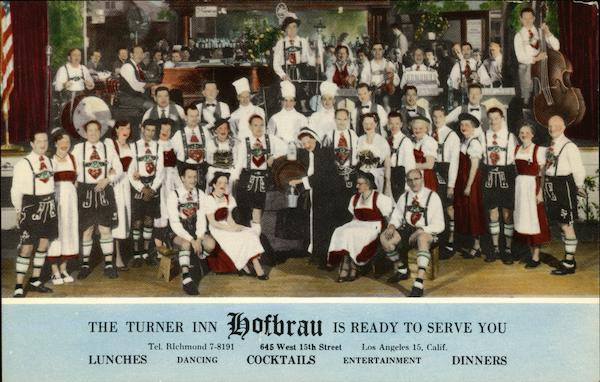 Turner Inn Hofbrau Los Angeles California