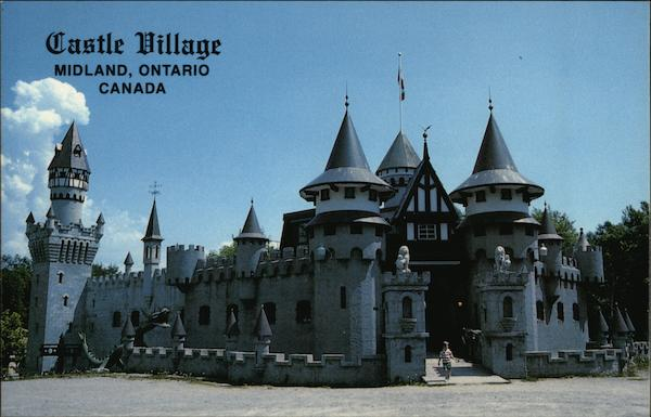 Castle Village Shops and Dracula's Dungeons Midland Canada