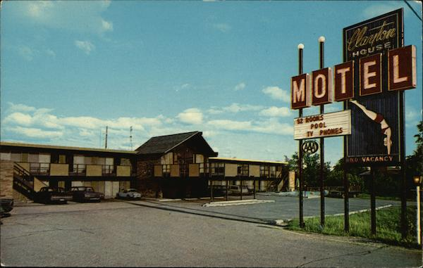 Clayton House Motel Peoria Illinois