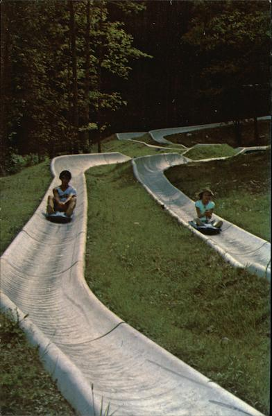 Alpine Slide Hancock Massachusetts
