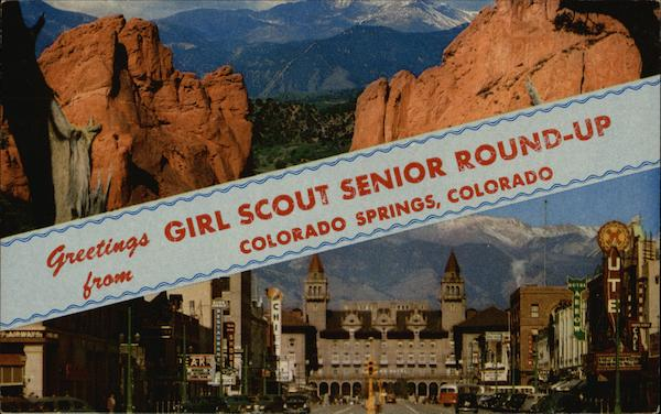 greetings from girl scout senior round up colorado springs co