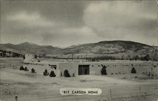 Kit Carson Home Cimarron Nm