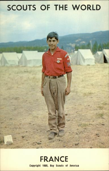 Scouts of the World: France Boy Scouts