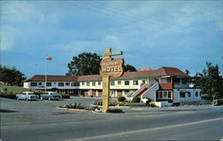 Discovery Motel Postcard