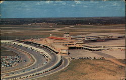 Greater Fort Worth International Airport Amon Carter Field Postcard