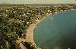 The Public Beach and County Park on Lake Missaukee