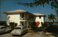 Ace Arrow Motel Apartments Postcard