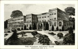 The Pioneer Country Club Postcard