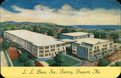 LL Bean Inc. - Artist's Rendering of Factory