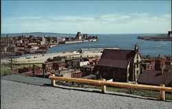 Saint John Harbour from The Lookout on Fort Howe