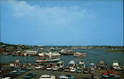 Bird's Eye View of the Harbor in Cape Cod