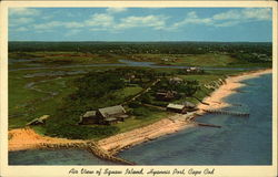 Air View of Squaw Island