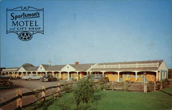 Sportsman's Motel and Gift Shop Postcard
