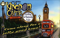 The Great Kingdom Caper, Cracking the Character Code