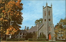 Historic St James Episcopal Church - Organized in 1762 as early outpost of Church of England