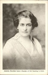 Juliette Gordon Low-Founder of Girl Scouting in U.S.A