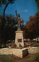 Boy Scouts Statue of Liberty Replica
