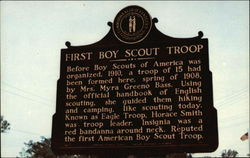 First Boy Scout Troop Historical Market