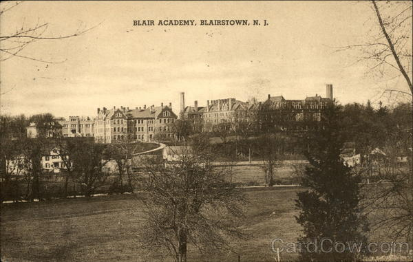 Blair Academy Blairstown New Jersey